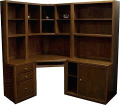 Office Depot Shelves by Desk Office Desk With Bookcase And Shelving Oak Effect Office