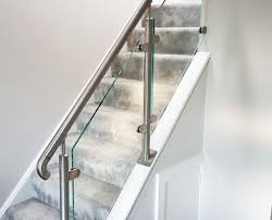 Glass Staircase Banister Home Brighton Balustrade Sussex Glass Balustrades And Balconies