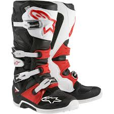 motocross boots size 5 alpinestars racing tech 7 mx off road dirt bike atv quad motocross