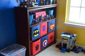 Batman Decoration Bedroom Batman Bedroom Ideas Using Back Wooden Shelves And Boxes