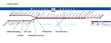 stl metro map metrolink navigating st louis