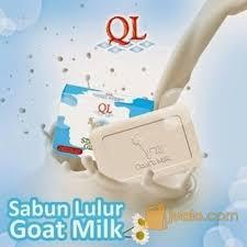 Pemutih Ql sabun lulur goat milk ql sabun pemutih badan ql surabaya jualo