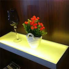 led lighted bar shelves modern design led lighted wall mounted floating shelf glass bar