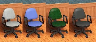 Boston Swivel Chair by Mod The Sims Standard Swivel Chair