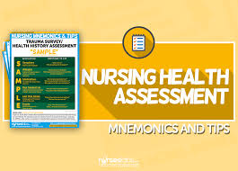 nursing health assessment mnemonics u0026 tips u2022 nurseslabs