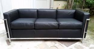 canapé lc2 le corbusier le corbusier canapé grand confort lc2 de cassina mobilier du