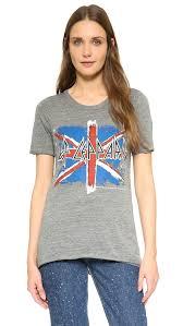 British Flag Shirts Lyst Chaser Def Leppard British Flag T Shirt In Gray
