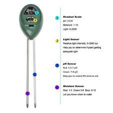 macdodo 3 in 1 soil moisture meter light and ph acidity tester