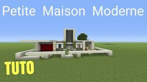 Maison Modern Minecraft by Tuto Minecraft Petite Maison Moderne Ps4 Ps3 Xbox360 Xboxone