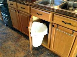 pull out trash can for 12 inch cabinet pull out trash can cabinet corner cabinet idea cabinet corner of