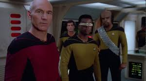 picard u0027s very first borg contact star trek tng hd youtube
