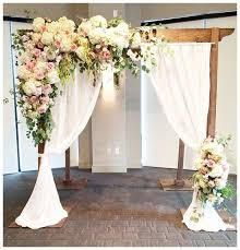 wedding arbor used pretty wedding arch for an outdoor wedding if wanting to save
