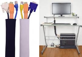 how to organize wires behind desk five fantastic cable organizers to wrangle your messy cables