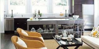 Wicker Kitchen Furniture Family And Kid Friendly Kitchens Family Kitchen Ideas