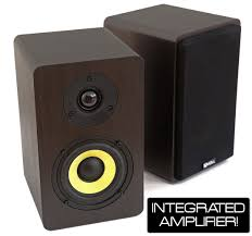 voll a44 active bookshelf speakers 1 pair voll audio
