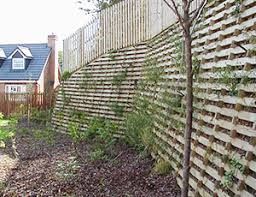 crib walls for dip irrigation systems