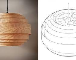 Wood Veneer Pendant Light Wood Veneer Pendant Light Gallery Of Roundup Diy Wooden Lshade
