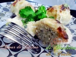 cuisine de choumicha gratin de boulettes de poulet de choumicha amour de cuisine