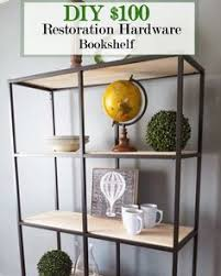 Diy Restoration Hardware Reclaimed Wood Shelf by 10 Restoration Hardware Hacks Industrial Shelves Restoration