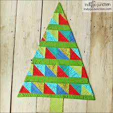 christmas card trees sewing pattern by indygo junction