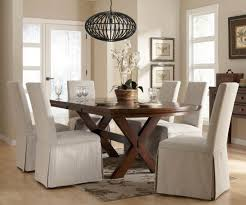 Dining Room Chairs With Slipcovers Dining Room Chair Slipcovers White