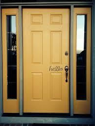 Front Door Red by Yellow Front Door Hello Been There Done That Pinterest