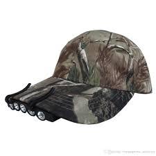 best hat clip light durable 5 led cap hat brim clip white light cing fishing black
