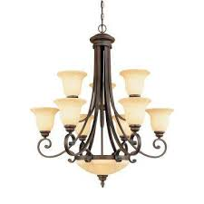 How Much Are Chandeliers Center Bowl Chandeliers Hanging Lights The Home Depot