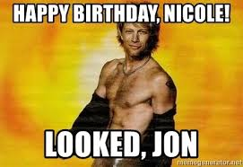 Meme Nicole - happy birthday nicole meme mne vse pohuj