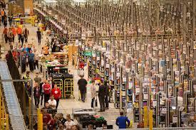 amazon have black friday sales 19 crazy images of amazon warehouses before black friday