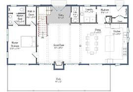 one floor plan barn house plans 2 0 the tullymore barn