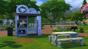 my sims 4 blog auto npcs barista and stall vendor by