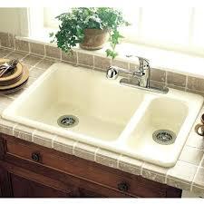 american standard americast sink 7145 american standard americast kitchen sink rhapsody blue product image