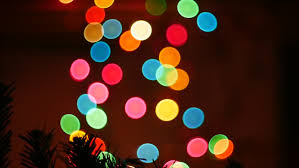 light blinkers and flashing lights party happy new year