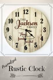 best 25 rustic clocks ideas on pinterest living room