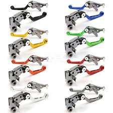cnc pivot brake clutch levers for kawasaki klx125 klx150s klx250