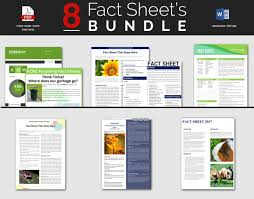 Template Sheets Fact Sheet Template 15 Free Word Pdf Documents