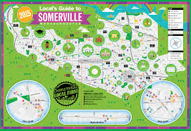 Ma Map Somerville Illustrated Map By Nate Padavick Www Idrawmaps Com