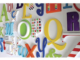 the wooden letters company alphabet letters a z wall sets