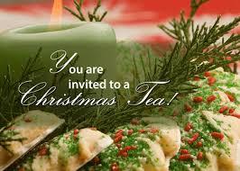 christmas tea party invitation christmas tea party free party invitations ecards