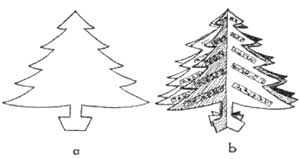 tree crafts for how to make trees with