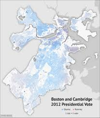 Massachusetts Map Cities And Towns by Blue And Bluer Massachusetts And Boston 2012 Bostonography