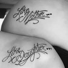 like mother like daughter tattoos of paige and her mom tattoo u0027s