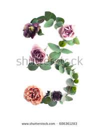 Part Of Flowers - abc made of flowers stock images royalty free images u0026 vectors