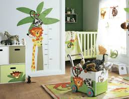 theme de chambre bebe chambre deco chambre enfant garcon stickers decoration chambre