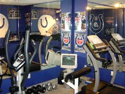 home workout room ideas decor google search house pinterest cool home gym design ideas blue exercise room with indianapolis colts design home inspiration