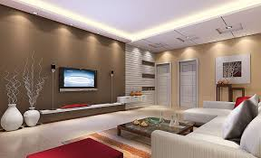 Interior Designs For Living Room With Brown Furniture Living Room Interior Design Modern Living Room With Wall On