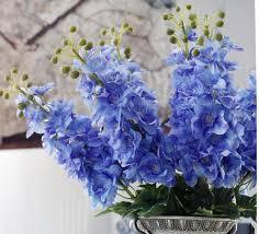delphinium flowers 10pcs simulation flower delphinium flower new handle artificial