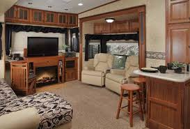 fifth wheels with front living rooms for sale 2017 the latest trend in fifth wheels brings lounge upstairs www intended