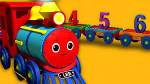 numbers song for children u2013 1 to 20 number train u2013 hd version 3d